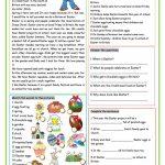Our Easter Worksheet   Free Esl Printable Worksheets Madeteachers | Free Printable Easter Reading Comprehension Worksheets