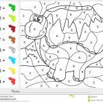 Paint Colornumbers   Addition And Subtraction Worksheet For | Free Printable Color By Number Subtraction Worksheets