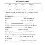 Parts Speech Worksheets | Noun Worksheets | Free Printable Parts Of Speech Worksheets