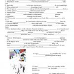 Past Continuous Vs. Past Simple Tense Worksheet   Free Esl Printable | Past Progressive Tense Worksheets Printable