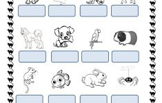 Pets Worksheets Printables
