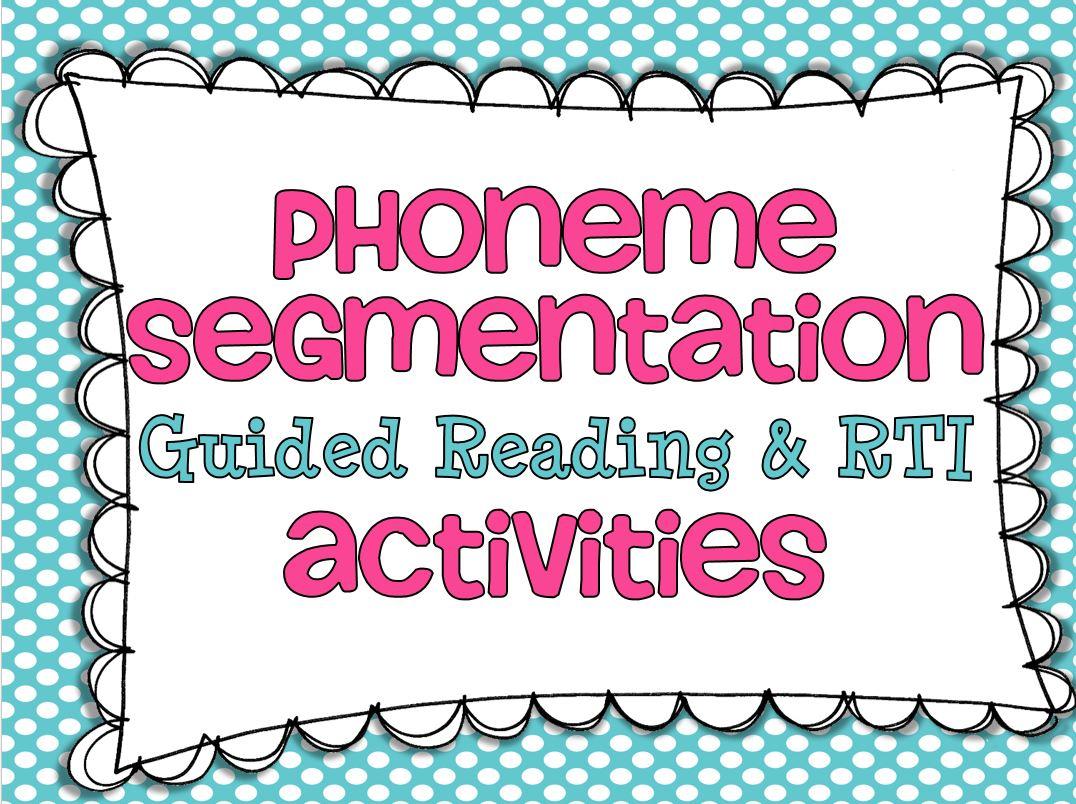 Phoneme Segmentation {And A Freebie} - Little Minds At Work | Free Printable Phoneme Segmentation Worksheets
