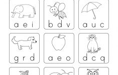 Phonics Worksheet For Beginners – Free Kindergarten English | Free Printable Phonics Worksheets