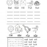 Phonics Worksheet Worksheet   Free Esl Printable Worksheets Made | Printable Phonics Worksheets