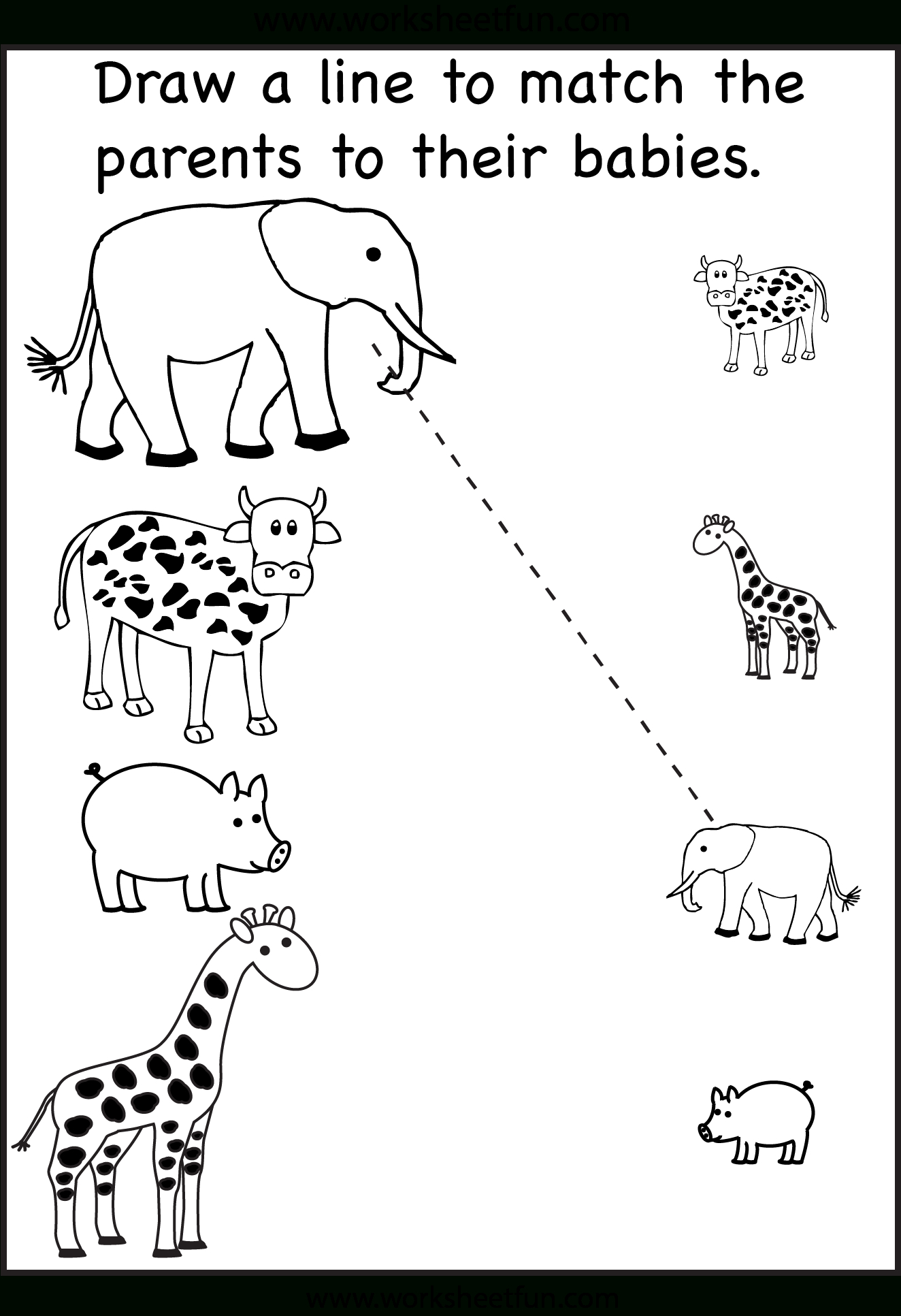 Pinzhenya Ilushevitch On Animals | Preschool Worksheets | 2 Year Old Worksheets Printables