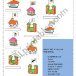 Places In Town   Esl Worksheetgaby Mn | Places In Town Worksheets Printables