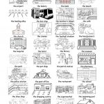 Places In Town Worksheet   Free Esl Printable Worksheets Made | Places In Town Worksheets Printables