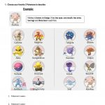 Pokémon Parts Of The Body Worksheet   Free Esl Printable Worksheets | Pokemon Worksheets Printable