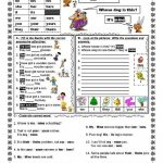 Possessive Adjectives And Possessive Pronouns   Interactive Worksheet | Possessive Pronouns Printable Worksheets