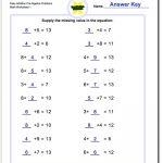 Pre Algebra | 8Th Grade Pre Algebra Worksheets Printable