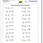 Pre Algebra | Free Printable Pre Algebra Worksheets