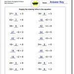 Pre Algebra | Printable Equation Worksheets