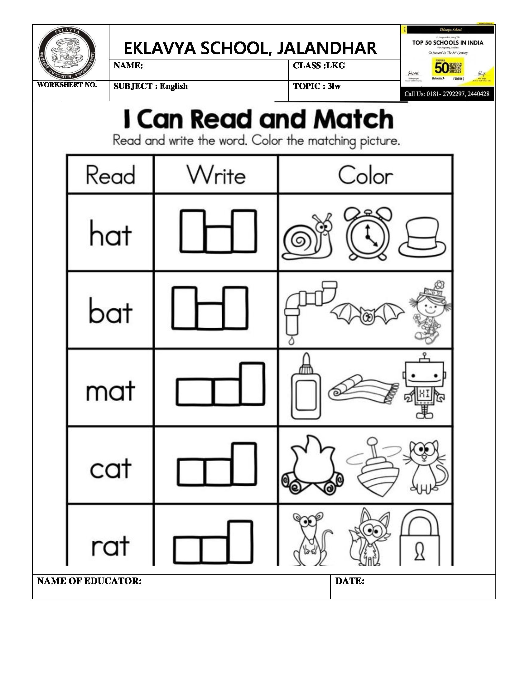 Pre Primary Worksheets – With Prek Printable Also Free Kindergarten | Free Primary Worksheets Printable