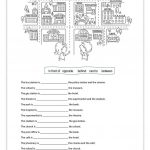 Prepositions Of Place Worksheet   Free Esl Printable Worksheets Made | Printable Preposition Worksheets