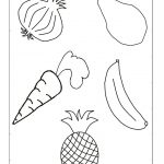 Preschool Fruits And Vegetables Worksheets – With Arts Crafts Also   Free Printable Arts And Crafts Worksheets