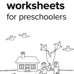Preschool Worksheets Age 4 – With Lesson Plan Template Also   Free Printable Preschool Worksheets