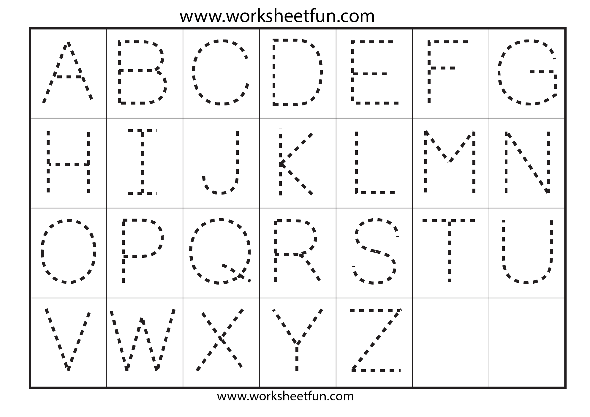 Preschool Worksheets Alphabet Tracing Letter A | Art | Alphabet | Free Printable Preschool Worksheets Tracing Letters