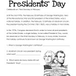 Presidents Day Worksheets   Best Coloring Pages For Kids | Free Printable Presidents Day Worksheets