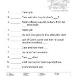 Printable Bible Study Worksheets Lessons For Youth Free Children's | Free Printable Children's Bible Lessons Worksheets