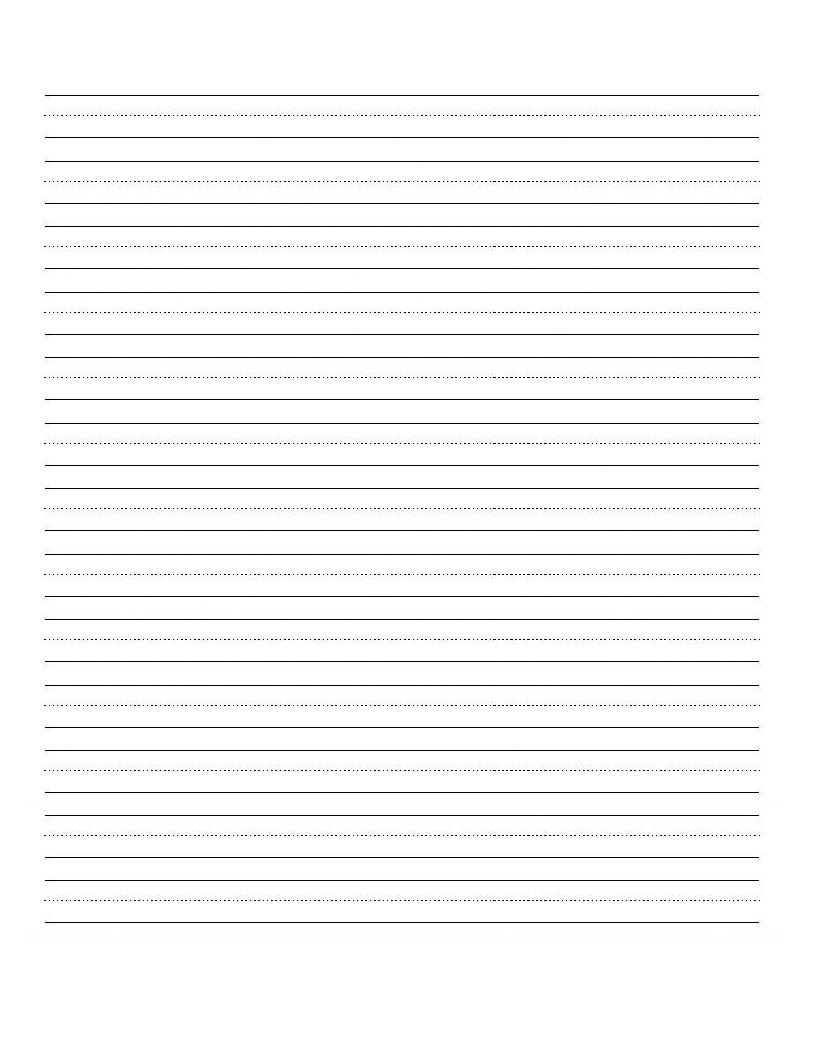 Printable Blank Writing Worksheet | Education | Cursive Writing | Printable Handwriting Worksheets