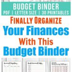 Printable Budget Binder  Floral | Money Saving Challenges | Printable Budget Binder Worksheets
