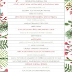 Printable Christmas Advent Calendar 7 Best Images Of Advent   Advent Printable Worksheets