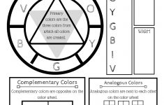 Printable Color Wheel – An Intro To Color Theory For Kids | The | Printable Color Wheel Worksheet