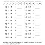 Printable Grade 1 Math Worksheets | Activity Shelter | Printable Math Worksheets