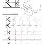 Printable Letter K Tracing Worksheets For Preschool | Learning | Letter K Worksheets Printable