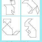 Printable Tangrams   An Easy Diy Tangram Template | Lesson | Tangram Worksheet Printable Free