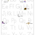 Printable Worksheets For 3 Year Olds – With Kindergarten Writing | Printable Letter Worksheets For 3 Year Olds