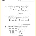 Printable Worksheets For 6Th Graders Grade Math Ratios Worksheets | Free Printable Worksheets For 6Th Grade