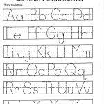Printable Worksheets For Preschoolers The Alphabets – With Alphabet   Childrens Printable Alphabet Worksheets