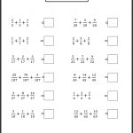 Printable Worksheetsgrade Level Andskill. | Teaching Ideas | 4Th Grade Printable Worksheets On Math