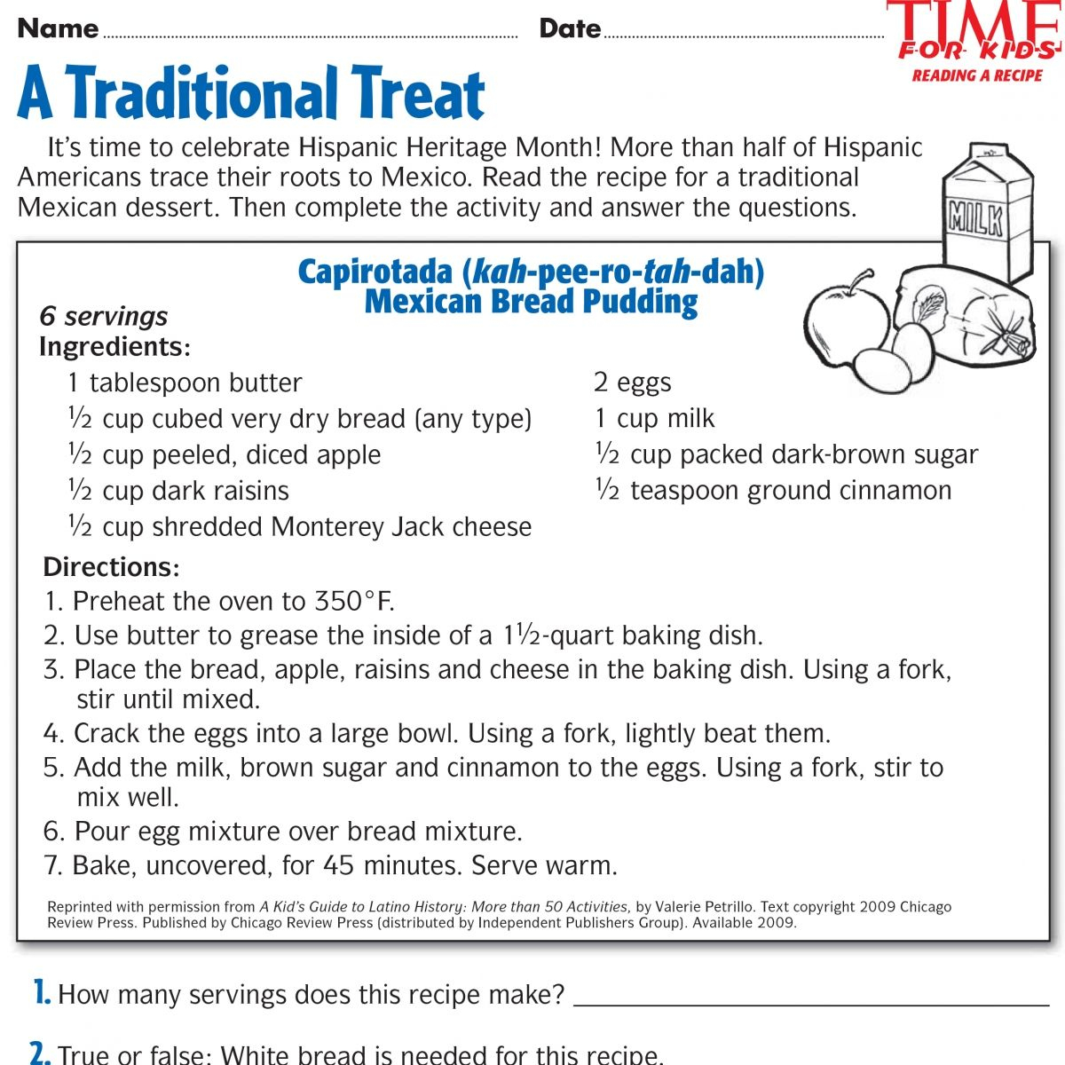 Printables For Hispanic Heritage Month | Time For Kids | Ideas | Hispanic Heritage Month Printable Worksheets