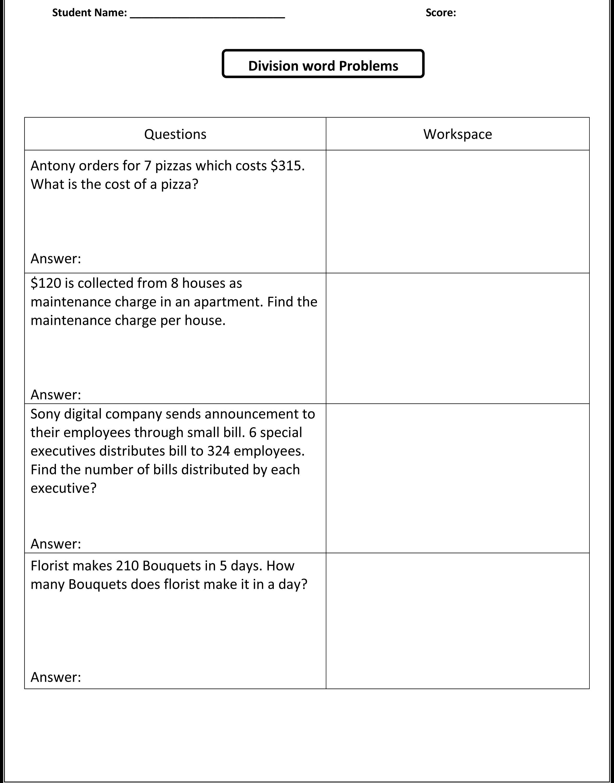 Printables Free Integer Word Problems Worksheet Integer Word | Free Printable Fraction Word Problem Worksheets