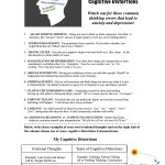 Psycho Educational And Mental Health Worksheets And Handouts | Printable Mental Health Worksheets