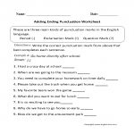 Punctuation Worksheets | Ending Punctuation Worksheets | Free Printable Punctuation Worksheets For Middle School