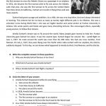 Reading About Amelia Earhart Worksheet   Free Esl Printable | Amelia Earhart Free Worksheets Printable