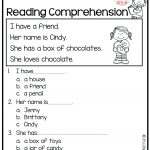 Reading Comprehension Worksheet 1St Grade – Karenlynndixon | Free Printable Reading Worksheets For 1St Grade
