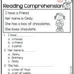 Reading Comprehension Worksheet 1St Grade – Karenlynndixon | Printable Reading Worksheets For 1St Grade