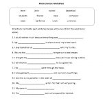 Reading Worksheets   Context Clues Worksheets   Context Clues Printable Worksheets 6Th Grade