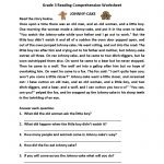 Reading Worksheets | Third Grade Reading Worksheets | Free Printable Reading Comprehension Worksheets For 3Rd Grade