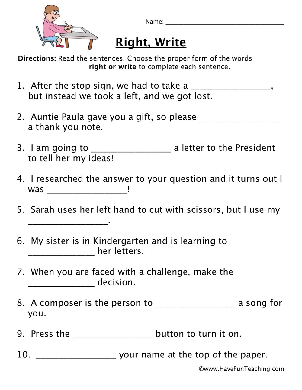 Resources   English   Homophones   Worksheets   Free Printable Homophones Worksheets For Grade 2