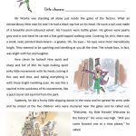 Roald Dahl   Charlie And The Chocolate Factory Extract Worksheet | Charlie And The Chocolate Factory Worksheets Printable
