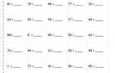 Rounding To The Nearest Ten Worksheet Printable