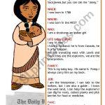 Sacagawea   Esl Worksheetbrpadali | Sacagawea Printable Worksheets