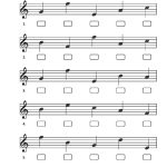 Sample Exercises   Notebusters Note Reading Music Workbook | Reading Music Worksheets Printable