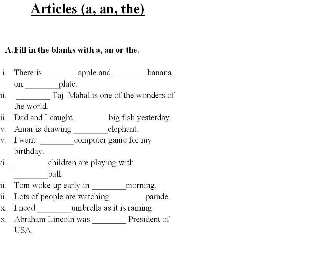 Saved Free Printable English Grammar Worksheets For Grade 6 2 | Printable Grammar Worksheets
