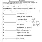 Second Grade Sentences Worksheets, Ccss 2.l.1.f Worksheets. | Free Printable Second Grade Writing Worksheets